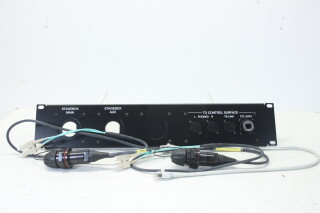 Optical 2U Panel + 2x Fibercas - RS2495SP EV-AXL-PL-1-3919 NEW