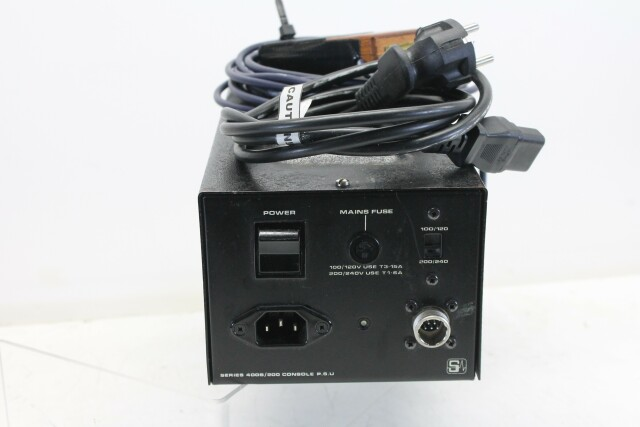 Soundcraft PSU Series 400B/200 for consoles with self built volt meter P-9947-z