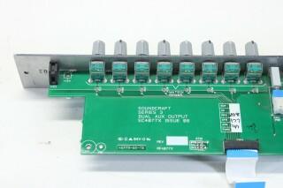 Soundcraft Series 3 Dual AUX Output - Matrix Sends Channel Strip (Incomplete) AXL3 L-10668-z 8