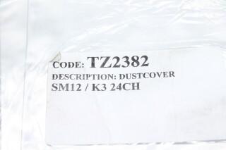 Soundcraft TZ2382 - SM12/K3 24CH Dust Cover NOS! Factory Sealed! AXL R-10301-z 2