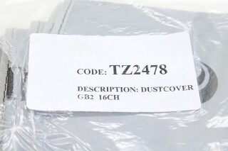 Soundcraft TZ2478 - GB2 16CH Dust Cover NOS! AXL R-10303-z 2