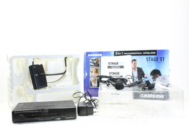 Stage 5T - Professional 3 in 1 VHF Microphone System (No.2) TCE-ZV-16-6592 NEW