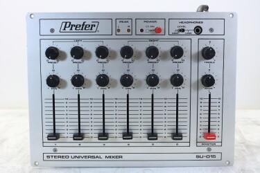 Stereo Universal Mixer SU-015 EV-ZV-8-5962 NEW