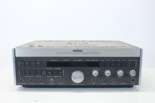 B-780 Microcomputer Controlled Synthesizer FM Receiver EV-N-4087