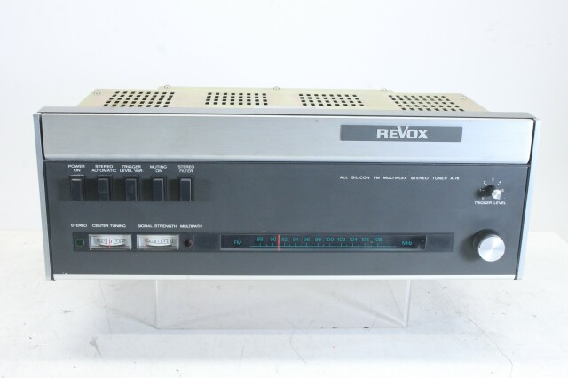 A76 All Silicon FM Multiplex Stereo Tuner KAY OR-16-13193-BV