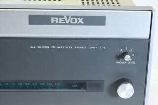 A76 All Silicon FM Multiplex Stereo Tuner KAY OR-16-13193-BV 3