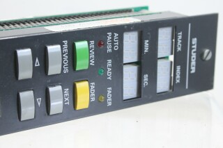 Studer D731 Controller Board 1.630.910 Module KAY E9-13786-BV 3