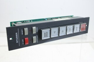 Studer 1.328.257.00 Remote For Tape Recorder Like A721, A810, A812, A820 (No.2) KAY E9-13782-BV