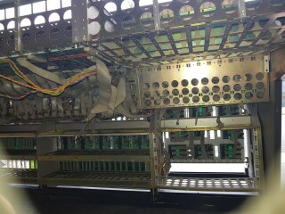 990 frame for 48 channel console - All wired up but no modules VL-9429-x 6