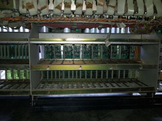 990 frame for 48 channel console - All wired up but no modules VL-9429-x 8