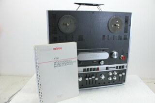 Revox A700 Stereo Taperecorder With Manual And Schematics VLM-11829-BV