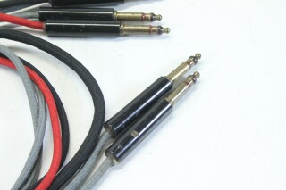 Bantam TT 6.3mm Patchcables with Switchcraft M642/2-2 Plugs - Lot of 5 KM-1-12471-vof 2