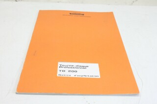 TD 200 manual VLE-9325-x