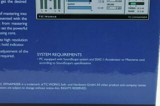 TC Works - TC Dynamizer for Soundscape in Original Box F-1-9652-x 10