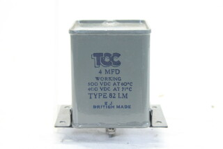 NEW OLD STOCK4 MFD 300VDCat 60°C - 400VDCat 71°C Type 82 I.M. HEN-ZV-7-BOX-2-5326 1