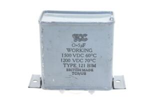 Type 121 BIM 0,5 µF - 1500/1200 VDC HEN-FS31-4958 NEW