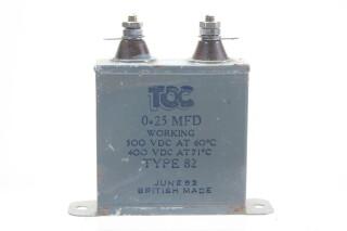 Type 820,25 MFD, 500VDC at 60°C - 400VDC at 71°C HEN-ZV-7-BOX-4-5330