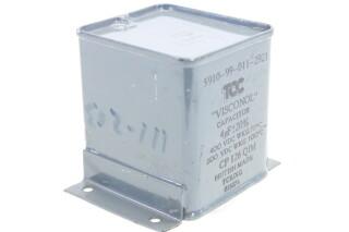 Visconol Capacitor 4 MFD 20% - 200 - 400 VDC WKG - CP126QIM HEN-FS31-4947 NEW