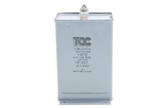 Visconol Capacitor 4 MFD - 800 VDC WKG - CP132V (no.5) HEN-FS31-4953 NEW