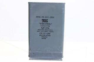Visconol Capacitor 8µF ± 20% - 400 VDC - CP127 QIM (no.2) HEN-FS31-4890 NEW
