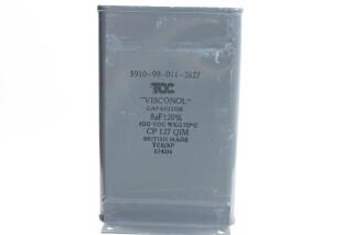 Visconol Capacitor 8µF ± 20% - 400 VDC - CP127 QIM (no.3) HEN-FS31-4892 NEW