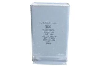 Visconol Capacitor 8µF ± 20% - 400 VDC - CP127 QIM (no.5) HEN-FS31-4920 NEW