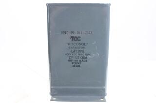 Visconol Capacitor 8µF ± 20% - 400 VDC - CP127 QIM (no.6) HEN-FS31-4921 NEW