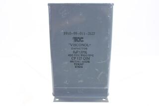 Visconol Capacitor 8µF ± 20% - 400 VDC - CP127 QIM (no.7) HEN-FS31-4922 NEW