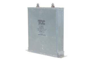 Visconol Capacitor 4 MFDType 111 HEN-ZV-7-BOX-1-5316 3