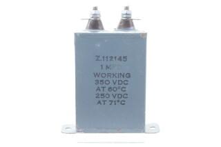 Z112145 1MFD WKG 350VDC at 60°C - 250VDC at 71°C HEN-ZV-7-BOX-2-5366 NEW