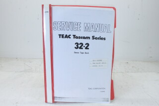 Tascam Series 32-2 Service Manual EV-F-4835 NEW