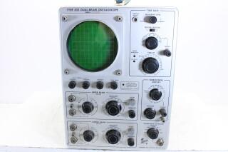Type 502 Dual-Beam Oscilloscope (Working) HEN-ZV-5-5071