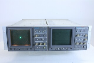 Vectorscope 1721 & Waveform Monitor 1731 JDH4 RK13-11023-z