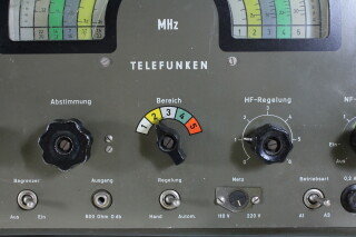 'Rainbow' Shortwave Receiver E127 Kw/5 Boatanchor HEN-OR-11-4597 NEW 9