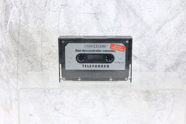 High Com demo cassette Ferro EV-P-6254 NEW