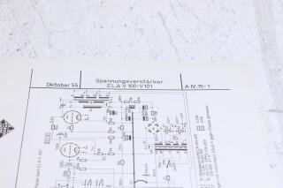 Original V100/V101 Schematics F-6345-x