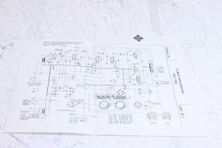 Original Ela V305 10W VollVerstarker Schematics F-6350-x
