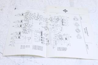 Original Ela V504 Reisemischpult Schematics F-6351-x
