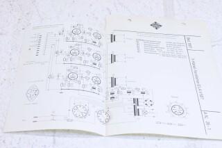 Original Ela V507 3 kanal verstarker Schematics F-6352-x 1