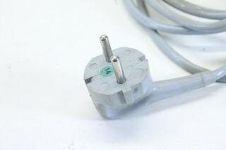 Original Telefunken M5 Taperecorder Power Cord (No.1) B-2-10865-z