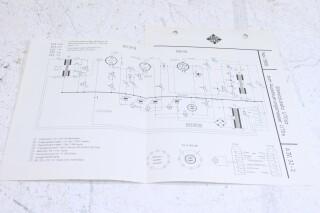 Original U 70sz Aussteuerungsmesser Schematics F-6354-x 2