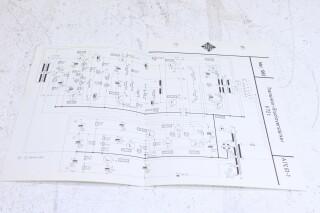 Original V72t Transistor Verstarker Schematics No.1 F-6355-x 1