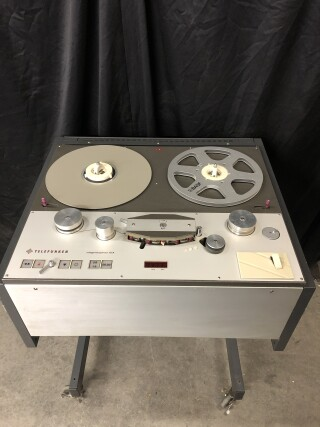 Stereo M15A 1/4 Inch Tape Recorder in Studer Trolley TCE-VL-6652 NEW