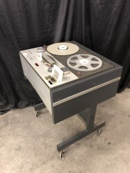 Stereo M15A 1/4 Inch Tape Recorder in Studer Trolley TCE-VL-6652 NEW 12