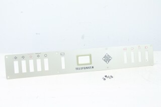 Telefunken M24 Recorder - Front Plate Including Original Screws K-9-12191-bv