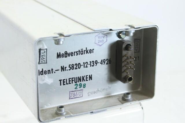 MEßverstärker nr 5820 -12-154-4739 (No.1) S-13132-BV
