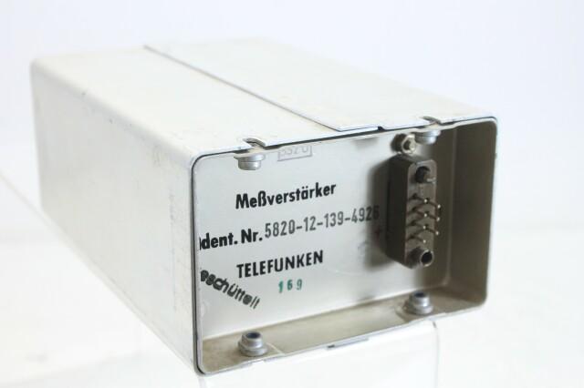 MEßverstärker nr 5820-12-154-4739 (No.2) S-13134-BV