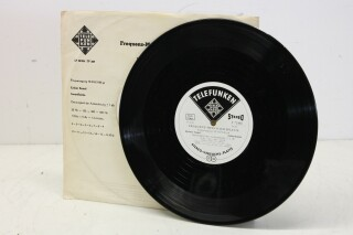 Telefunken TST 72681 Stereo Frequency Measuring Plate/LP A-13585-bv