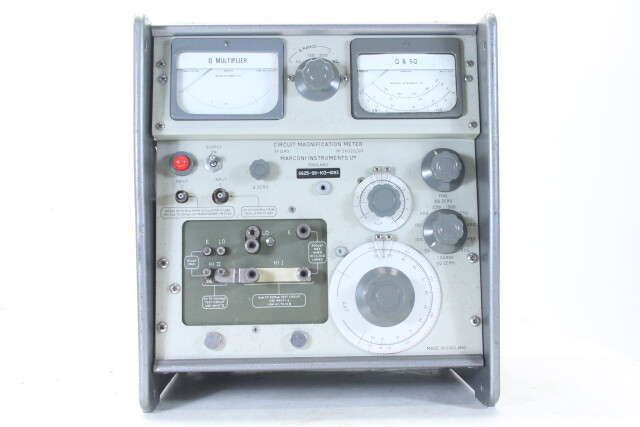 Circuit Magnification Meter model TF 1245 HEN-N-4378 NEW
