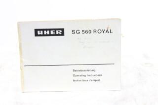 SG 560 ROYAL Manual EV-F-5885
